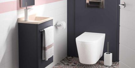 meuble wc suspendu ambiance bain avec tablette smo int gr e. Black Bedroom Furniture Sets. Home Design Ideas