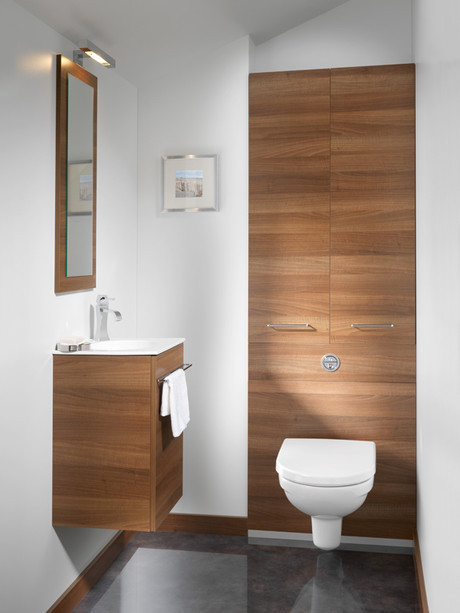 meuble wc suspendu ambiance bain avec tablette smo int gr e. Black Bedroom Furniture Sets. Home Design Ideas